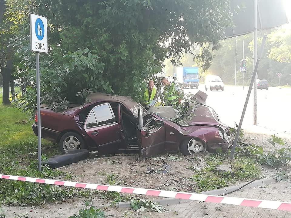 Молода водійка іномарки розбилася на смерть в'їхавши в дерево, - ФОТО , фото-1