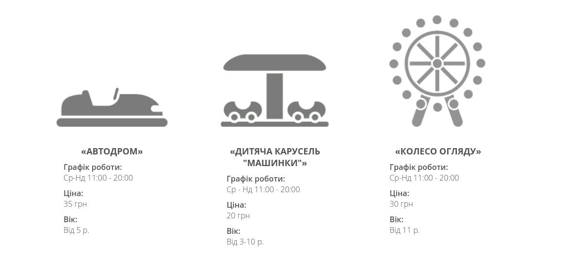 Де у Львові покататися на атракціонах, - ПЕРЕЛІК, ЦІНИ, фото-3