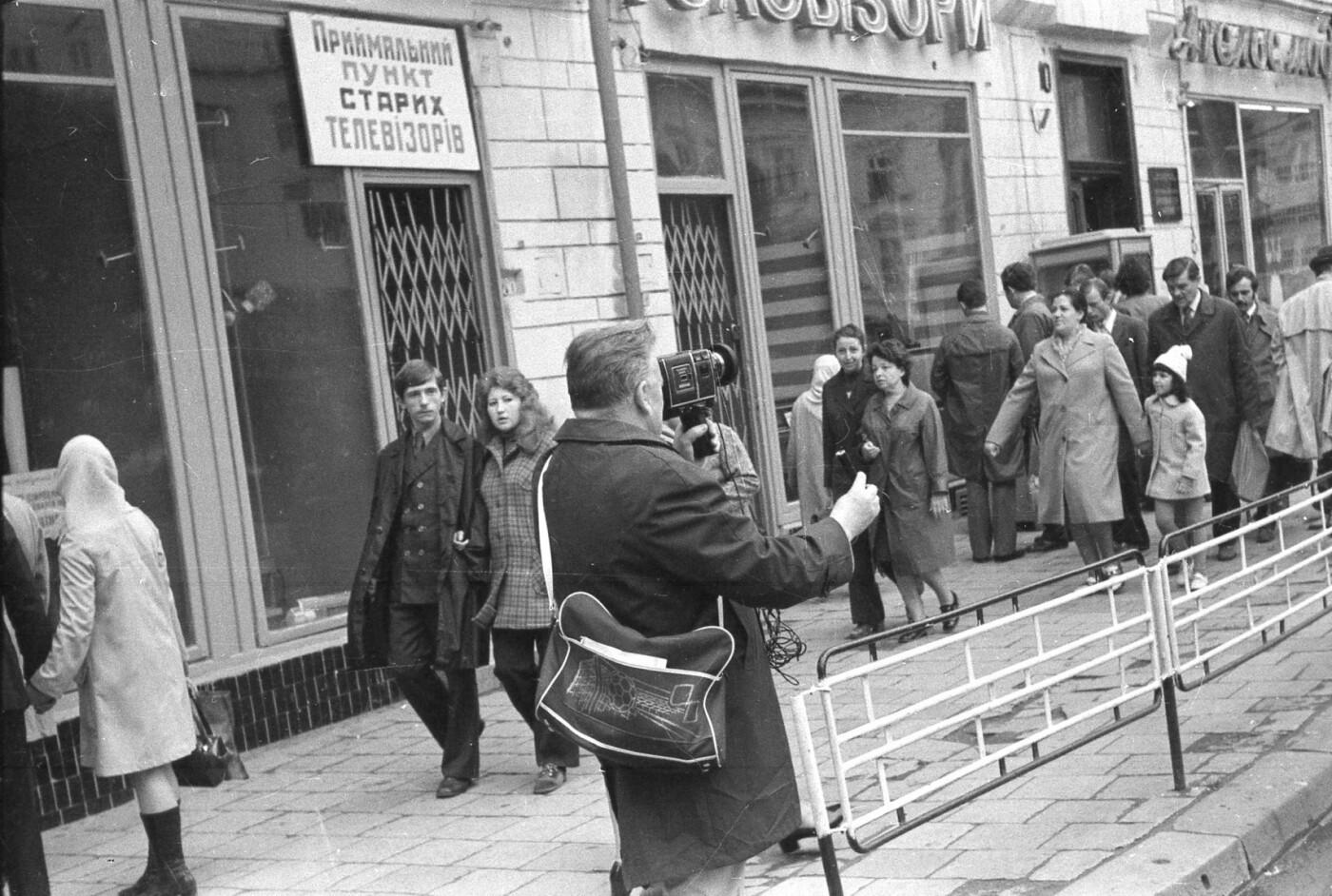 Як виглядали перехожі на вулицях Львова у 1970-х роках, - ФОТО, фото-11