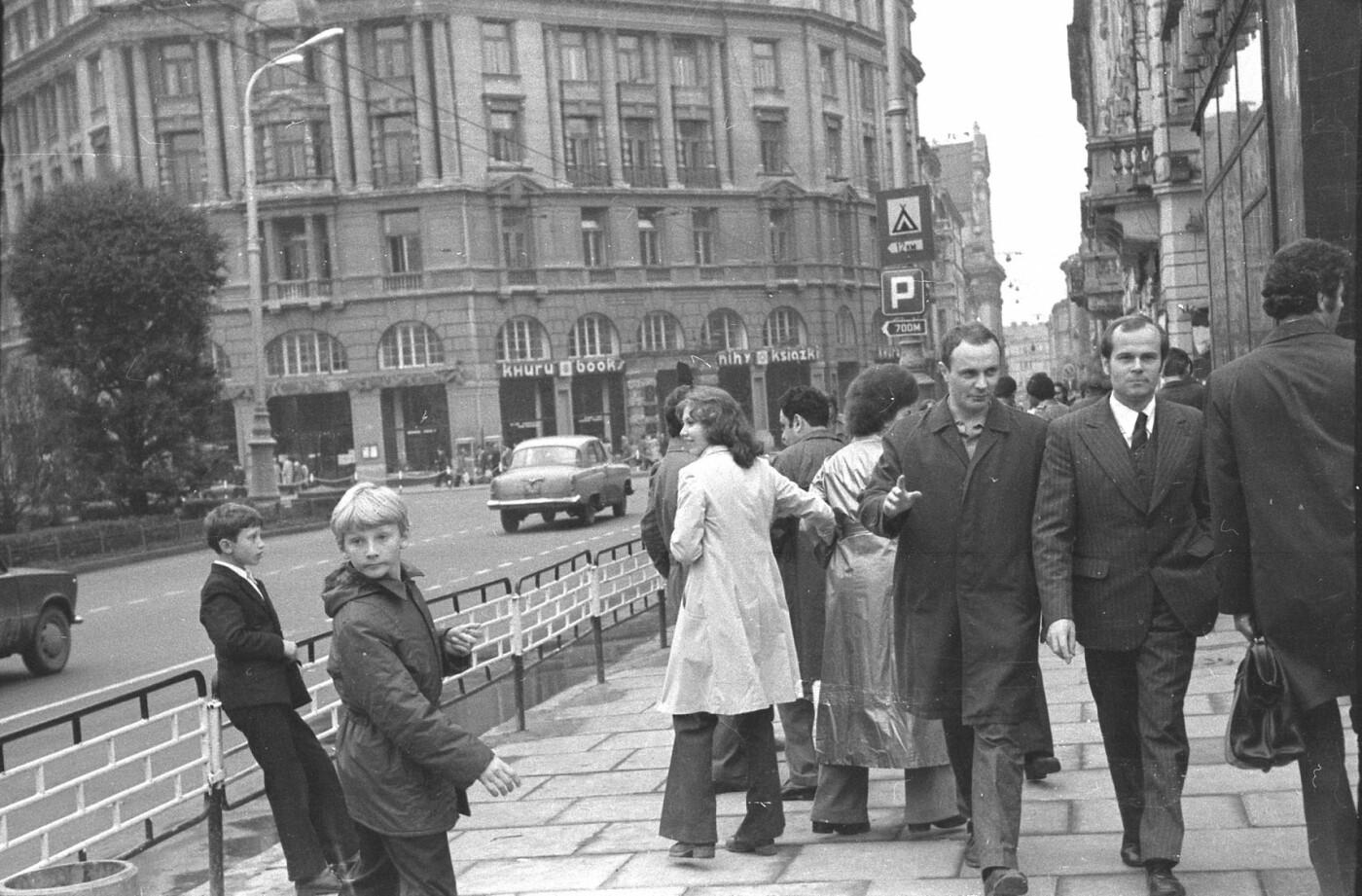 Як виглядали перехожі на вулицях Львова у 1970-х роках, - ФОТО, фото-17
