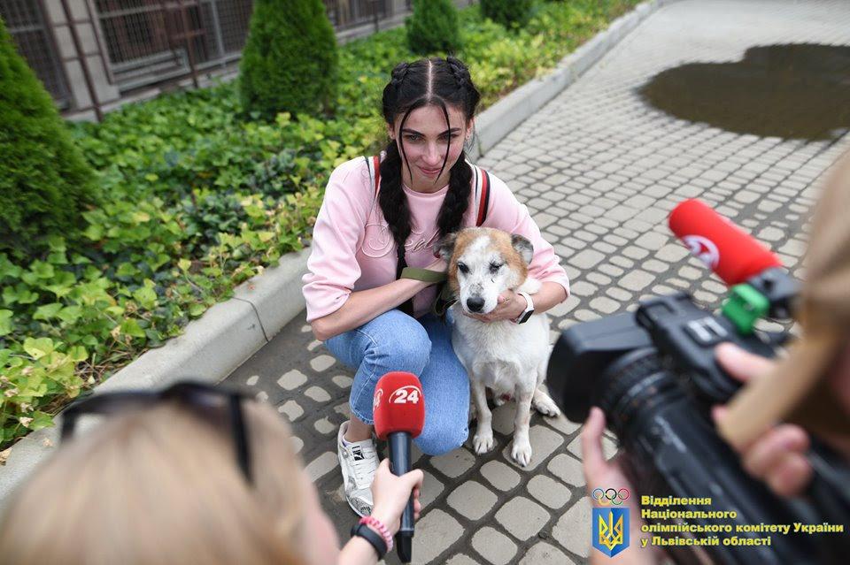 Як у Львові відомі спортсмени допомагали безпритульним тваринам, - ФОТО, фото-3