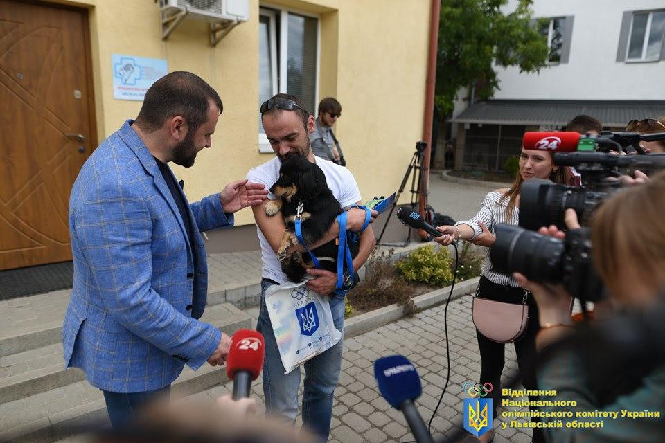 Як у Львові відомі спортсмени допомагали безпритульним тваринам, - ФОТО, фото-6
