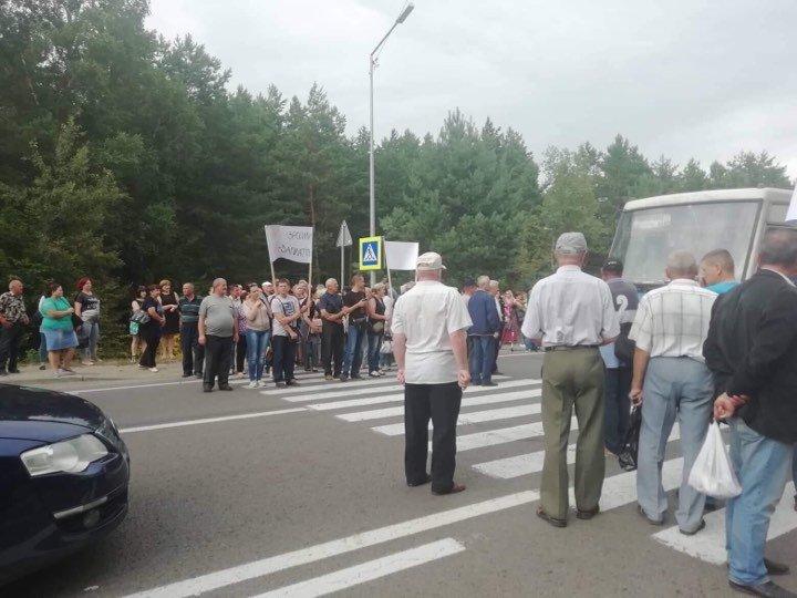 На Львівщині працівники ТЕЦ перекрили трасу до кордону з Польщею, - ФОТО, фото-2