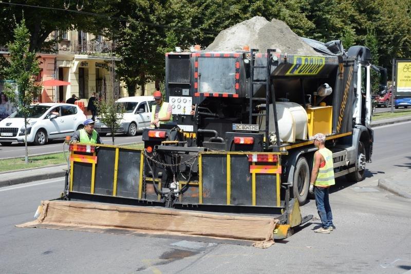 У Львові ремонтують дорогу на проспекті Чорновола, - ФОТО, фото-4, Фото: ЛМР