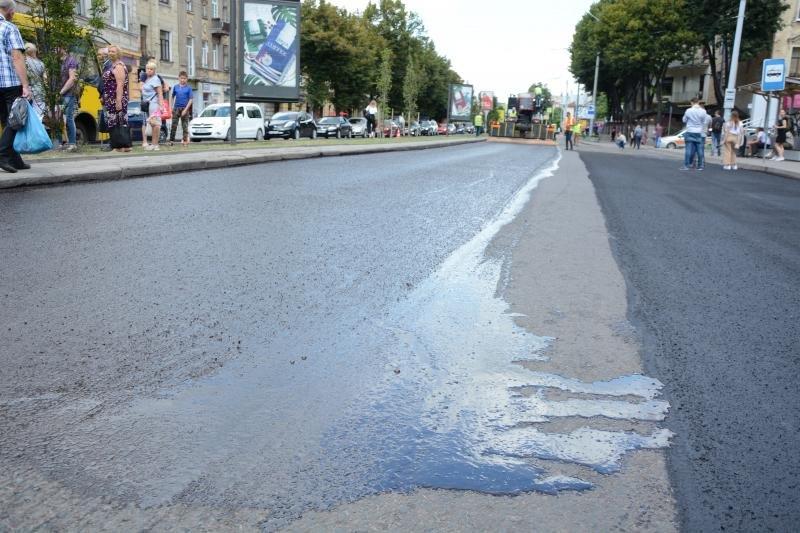 У Львові ремонтують дорогу на проспекті Чорновола, - ФОТО, фото-3, Фото: ЛМР
