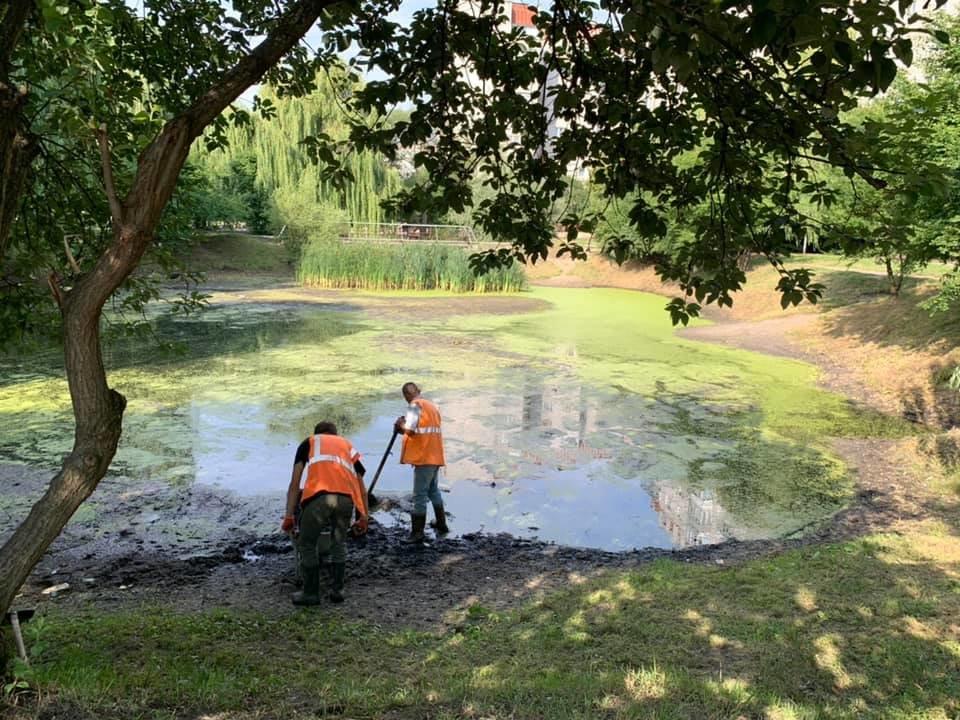 Озеро до прибирання