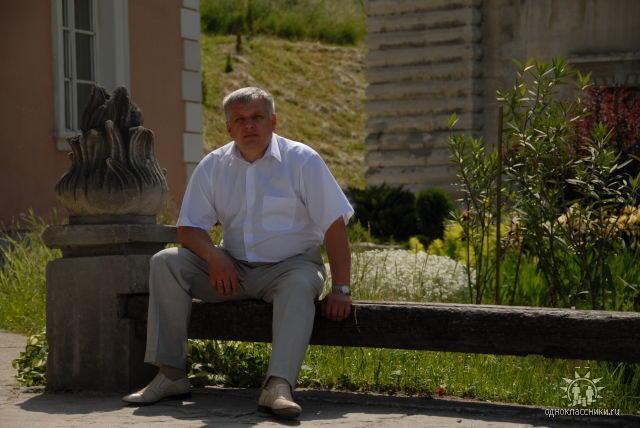 Фото: профайл В. Кресяка у Однокласниках