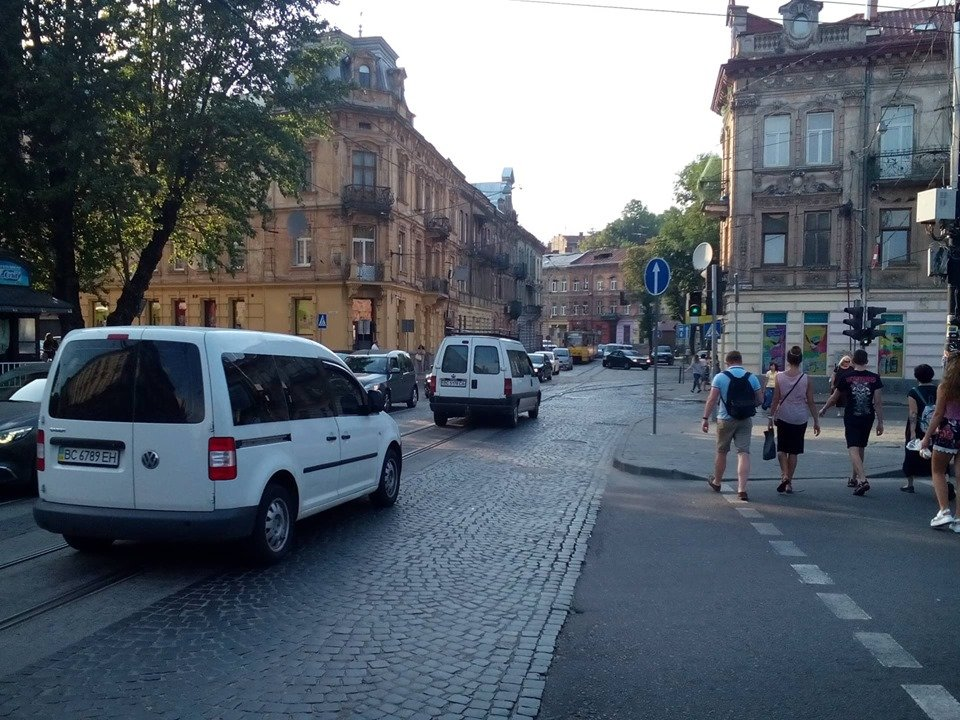 На вулиці Франка у Львові частково реорганізували рух, фото-2