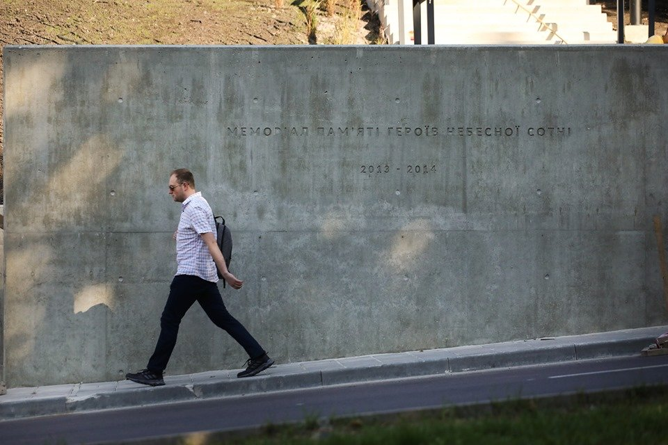 У Львові відкривають Меморіал пам'яті Героїв Небесної Сотні, - онлайн-трансляція, фото-3, ЛМР