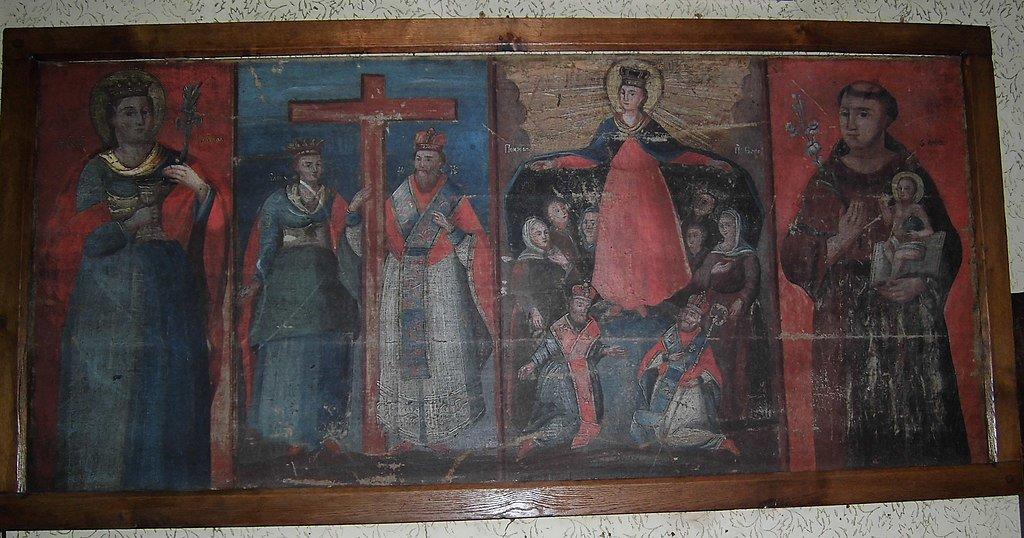 Стародавня ікона Церкви Воздвиження Чесного Хреста в м.Копичинці, Вікіпедія