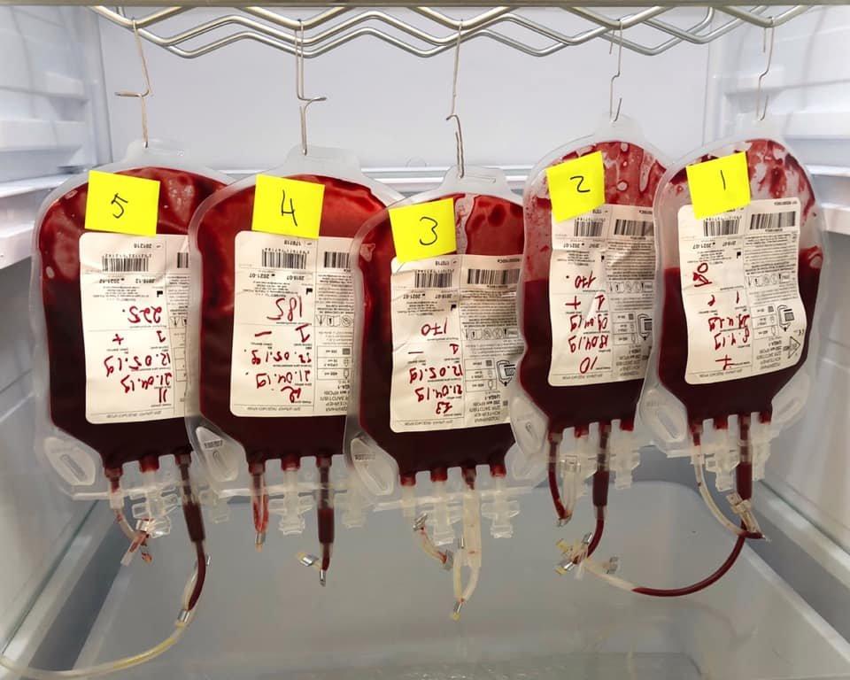 Перший пацієнт ЛКП, якого врятували завдяки донорській крові