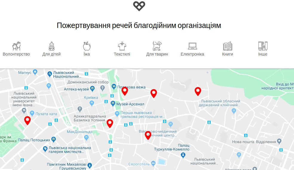 helpmap.io скріншот з сайту
