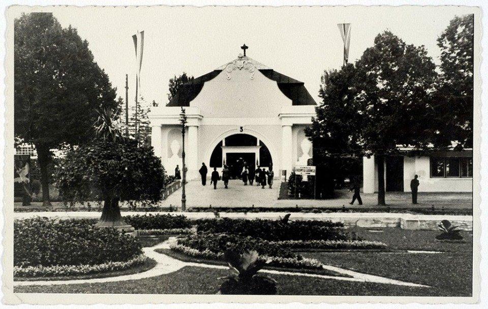 Архівні фото будівлі, у якій тепер облаштовують сенсотеку
