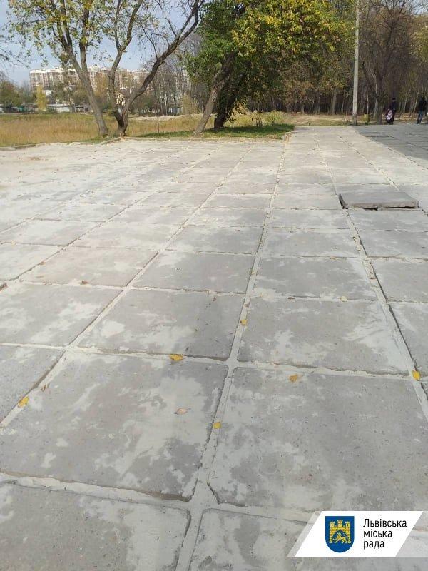 У львівському парку «Горіховий гай» облаштували доріжки, - ФОТО , фото-4