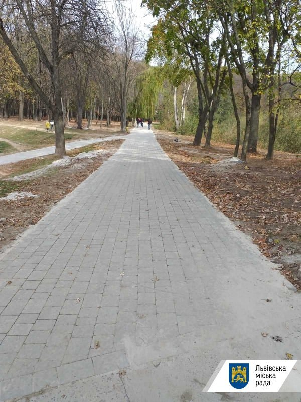 У львівському парку «Горіховий гай» облаштували доріжки, - ФОТО , фото-2