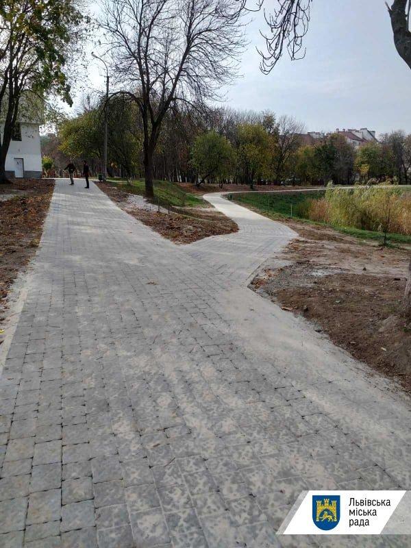У львівському парку «Горіховий гай» облаштували доріжки, - ФОТО , фото-1