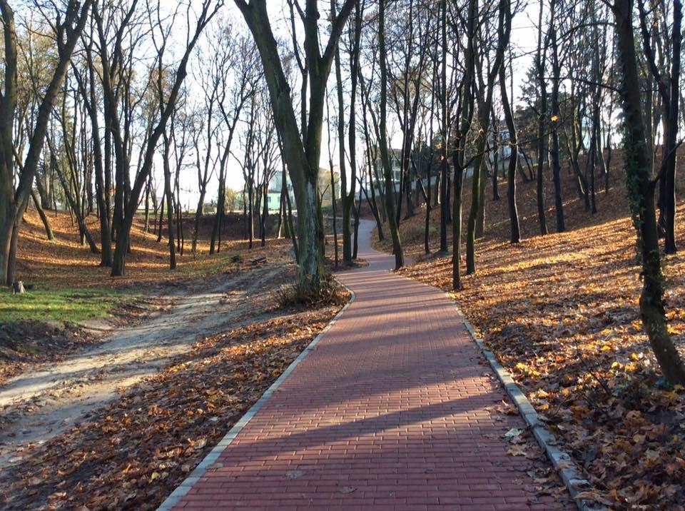 Велодоріжка, Личаківський парк, фото: Олег Шмід