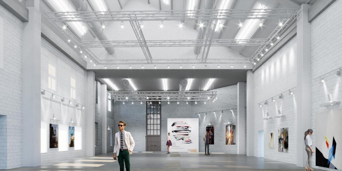 візуалізації майбутнього арт-центру на Фабриці повидла