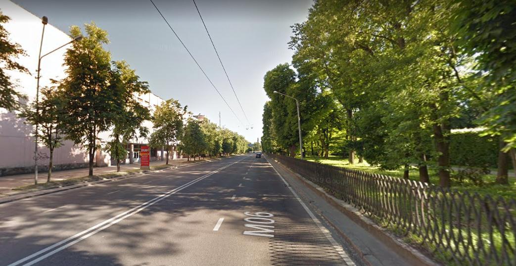 вул. Стрийська/скріншот із Google Street View