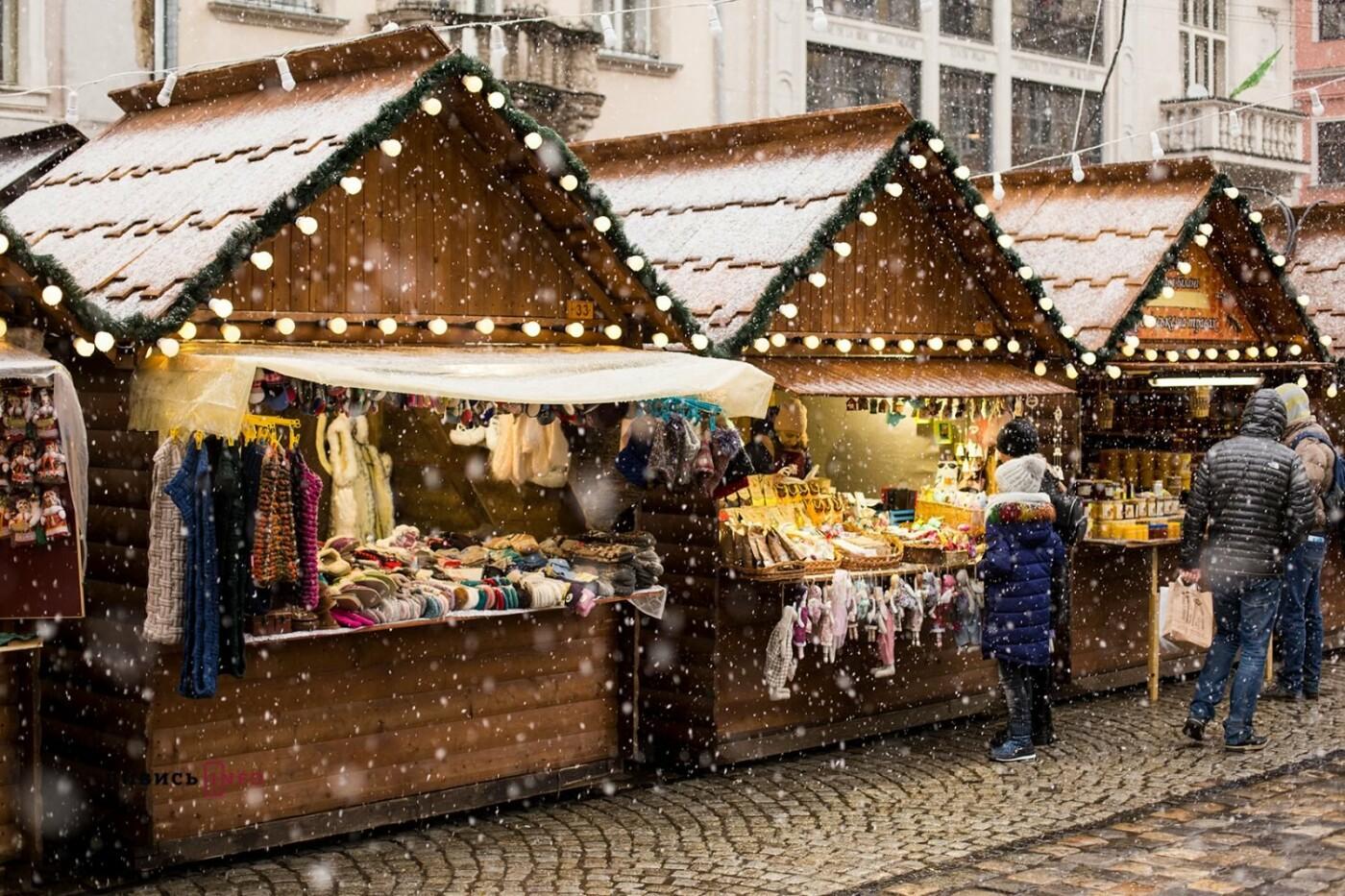 Фото: Різдвяний ярмарок у Львові