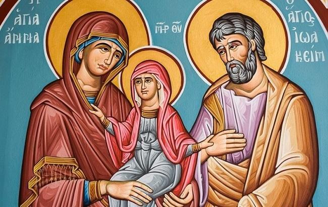 День зачаття Пресвятої Богородиці святою Анною