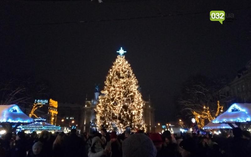 Головна ялинка Львова 2018