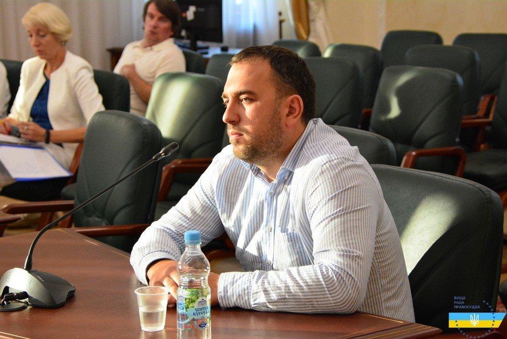 Суддя Лозинський, фото: Вища рада правосуддя