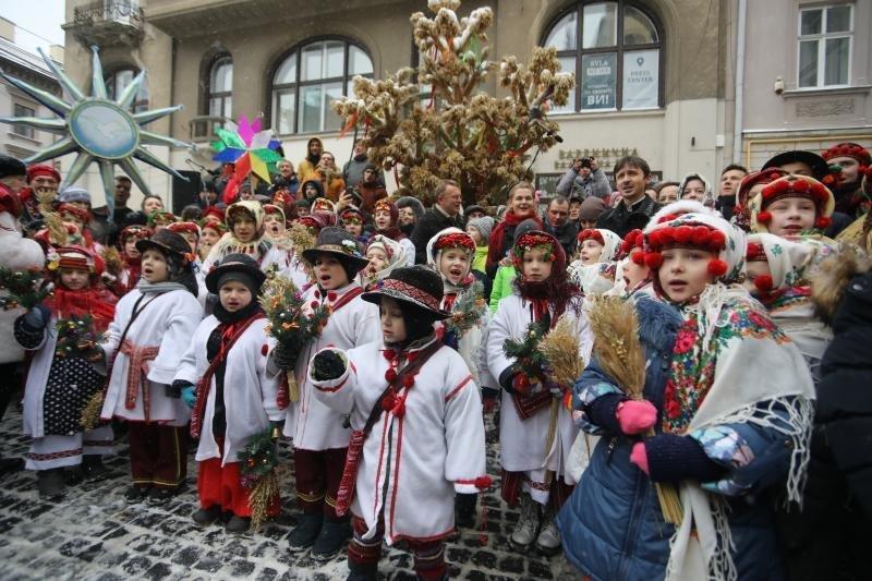 Фото: Різдвяний Дідух / 032.ua