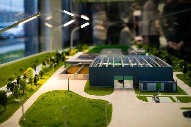 Сміттєпереробний завод, візуалізація ЛМР