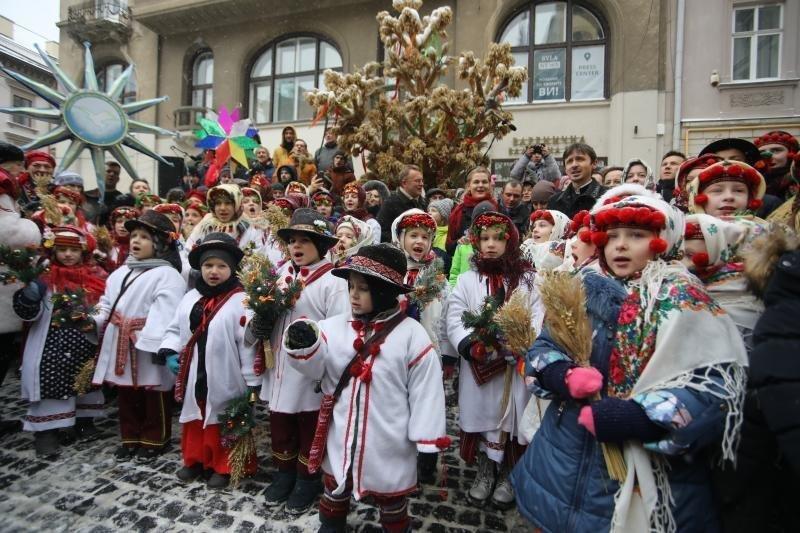 Дідух у Львові, фото ЛМР