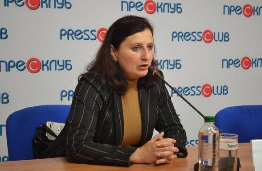 Олеся Дацко, фото з Пресклубу Львів