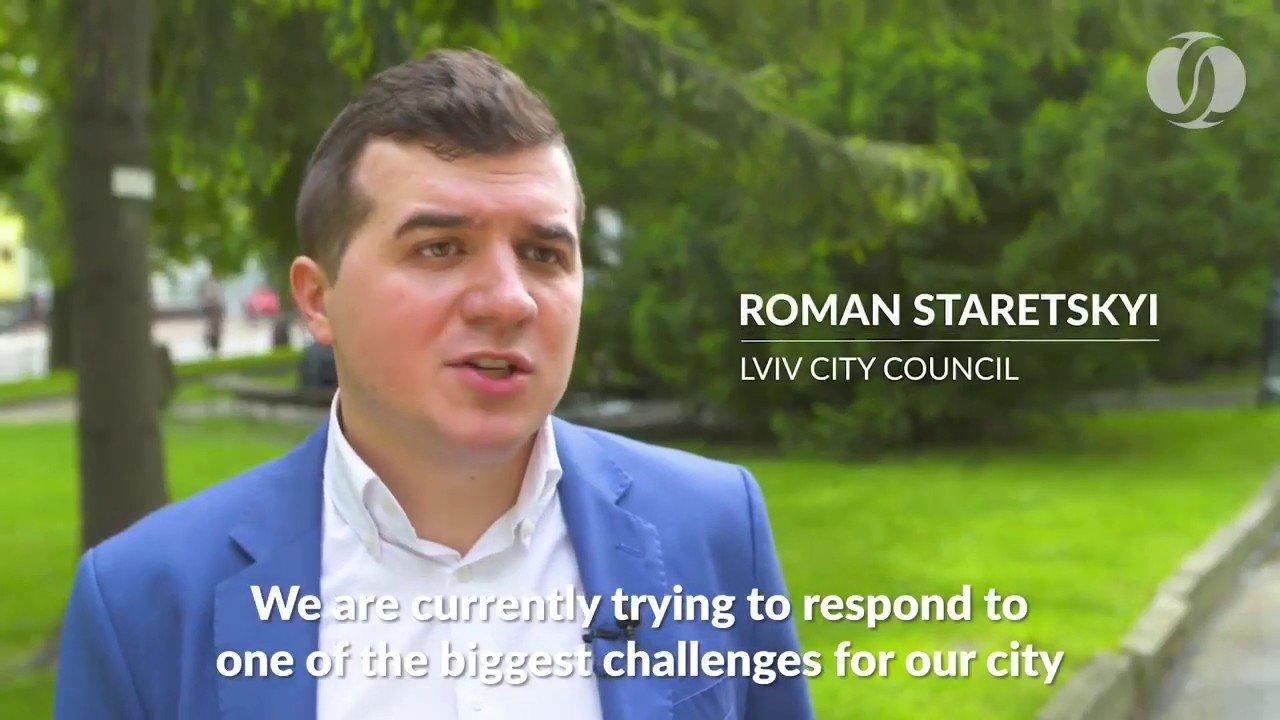 Роман Старецький, скріншот з відео ЛМР