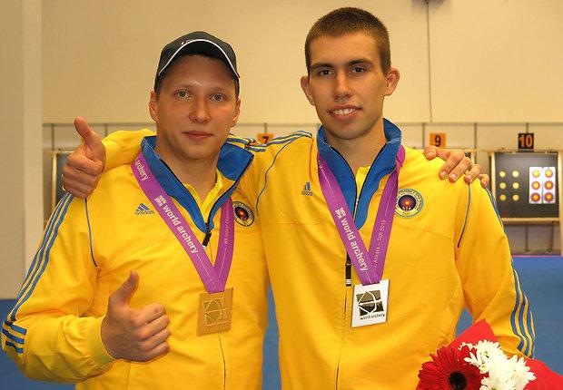 Іваницький і Макаревич, фото НОК