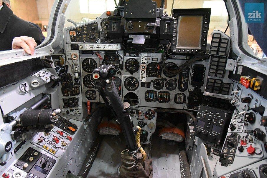 МіГ-29, який готують до нових випробувань у Львові