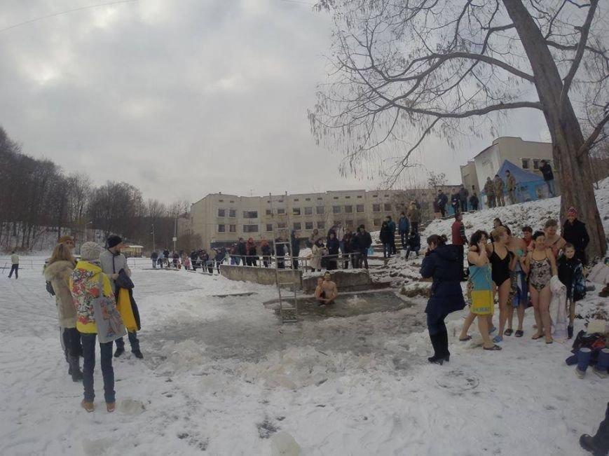 """Водохреща на Погулянці, фото Туристичного клубу """"Манівці"""""""