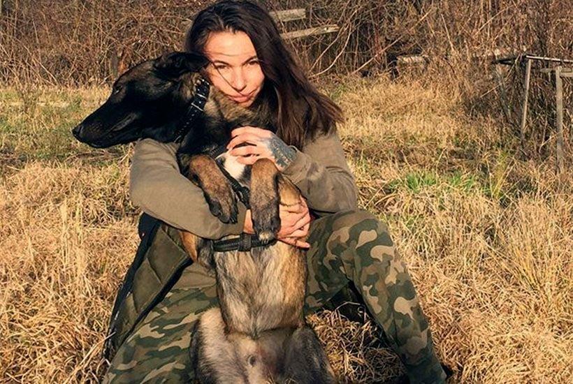 Альона Лігаєва, фото в/ч 4114