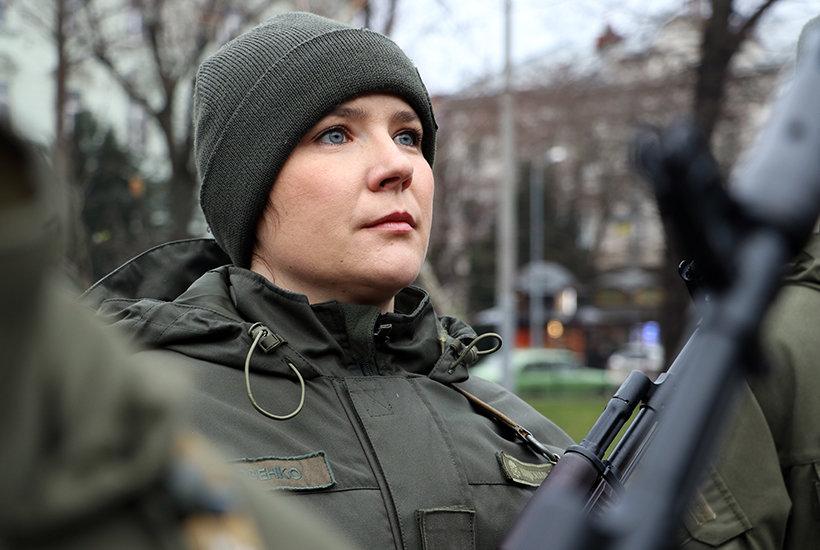 Фото: присяга нацгвардійців / пресслужба військовох частини 3002