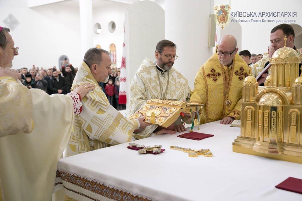 Фото: висвячення наймолодшого єпископа Степана Суса / Київська Архиєпархія УГКЦ, фейсбук