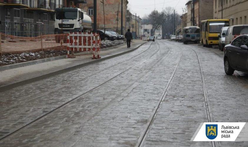 Фото: вулиця Замарстинівська / пресслужба Львівської міської ради