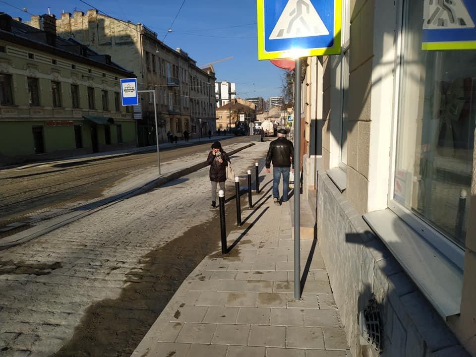 """""""За що тобі це, Замарстинівська?"""": львів'яни дивуються з химерного переходу на щойно відремонтованій вулиці, фото-2"""