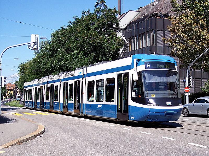 Трамваї Цюриха, фото з Вікіпедії