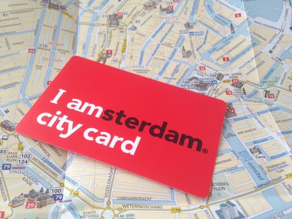 Карта амстердамця, фото amsterdam.info
