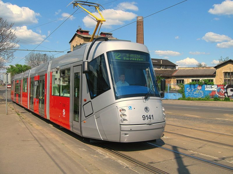 Прага, трамвай, фото pragagid.ru