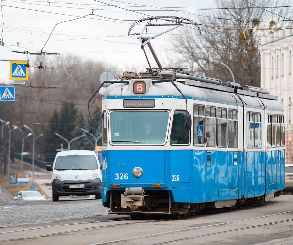 Вінницький трамвай, фото Вінницької міськради