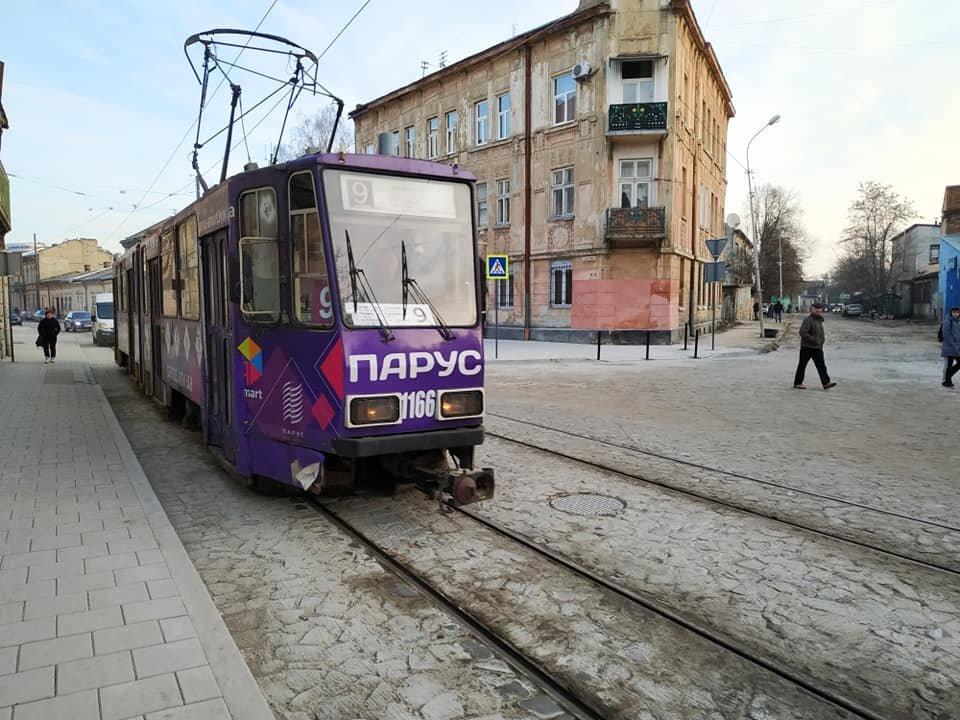 Фото: трамвай №9 / Львівська міська рада