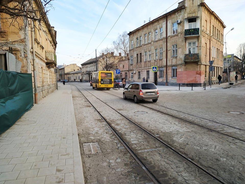 вул. Замарстинівська після ремонту