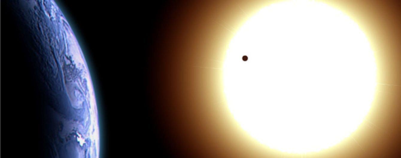 Проходження Венери по диску Сонця, фото з сайту ТСН