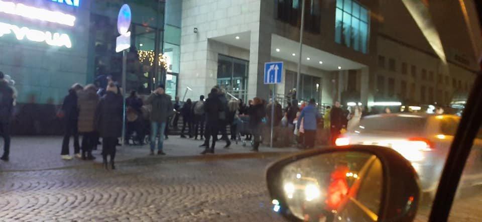 """Евакуація у """"Форумі"""", Ігор Зінкевич"""