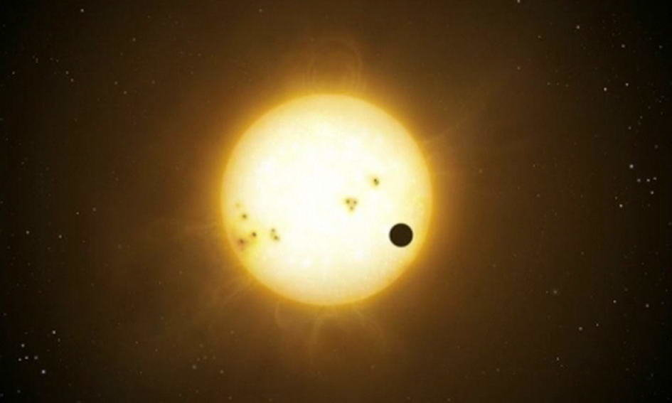 Проходження Венери по диску Сонця, фото з сайту Відомості