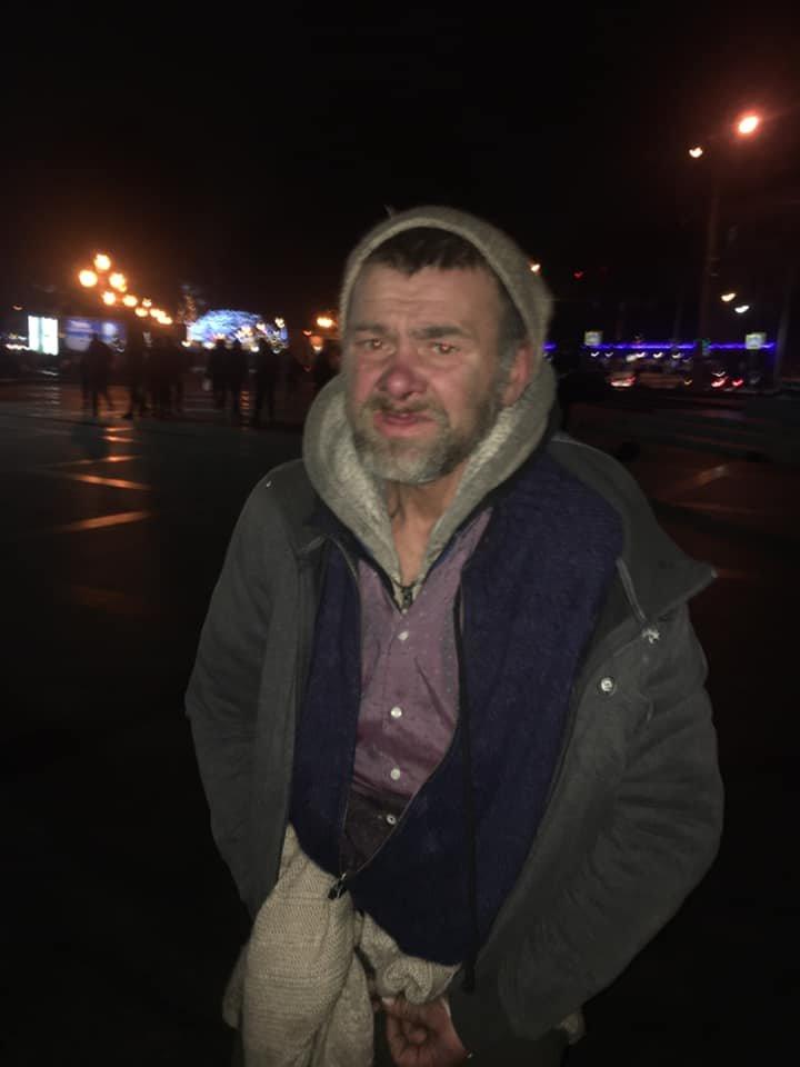 Фото: чоловік, що знущався над цуценям / Орест Залипський, фейсбук